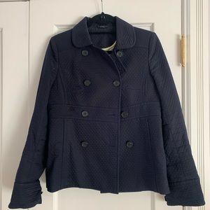 Jcrew pique pea coat